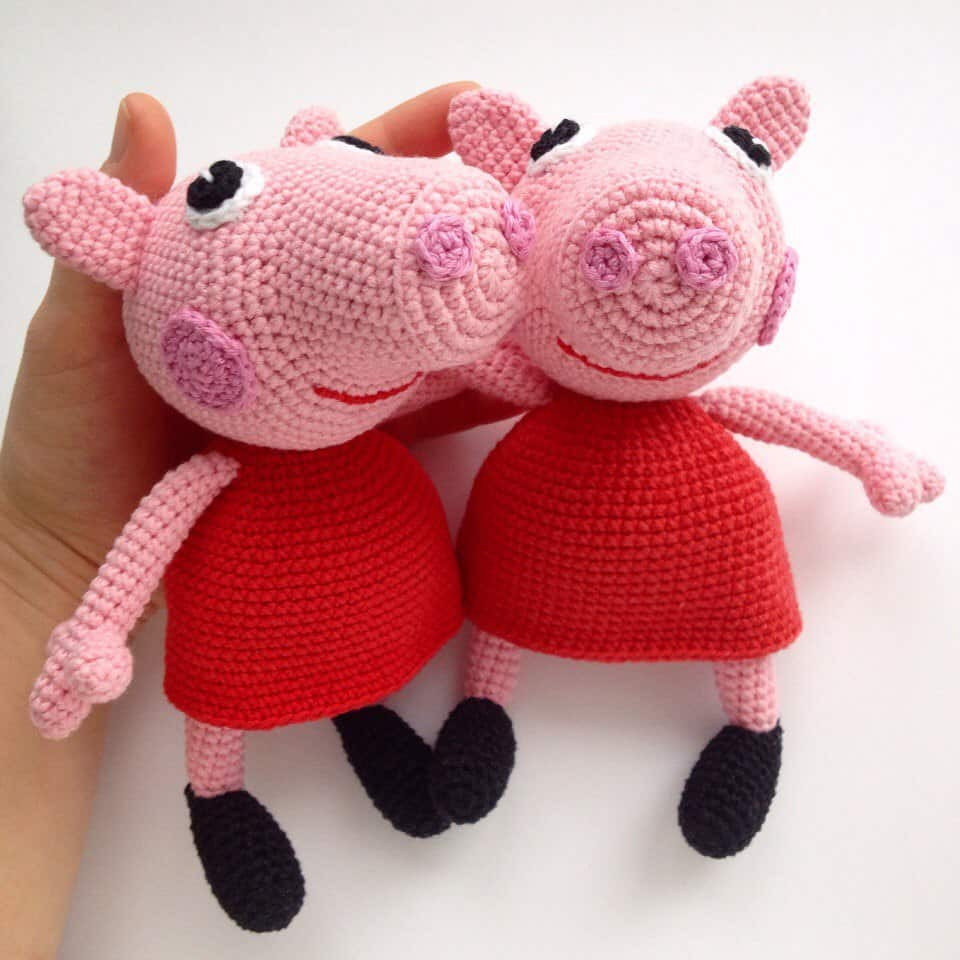 Crochet Pig Pattern Elegant Peppa Pig Free Crochet Pattern Amigurumi today Of Adorable 49 Models Crochet Pig Pattern