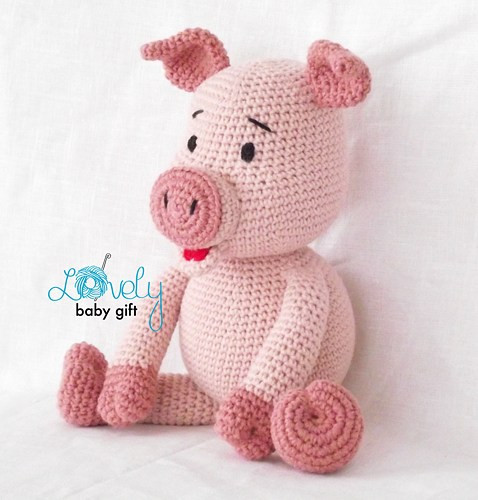 Crochet Pig Pattern Fresh Piglet Crochet Pattern Pink Pig Crochet Pattern Of Adorable 49 Models Crochet Pig Pattern