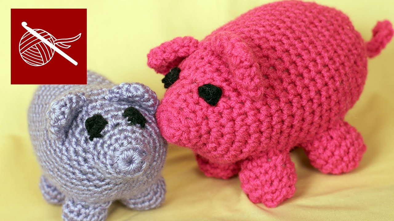 Crochet Pig Pattern Inspirational How to Make Crochet Amigurumi Pig Wilbur Tutorial Croc Of Adorable 49 Models Crochet Pig Pattern