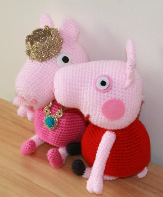 Crochet Pig Pattern Inspirational Peppa Pig Doll and Princess Crochet Pattern Of Adorable 49 Models Crochet Pig Pattern