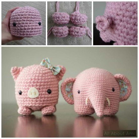 Crochet Pig Pattern Lovely Cute Free Crochet Patterns Pinterest top Pins Of Adorable 49 Models Crochet Pig Pattern