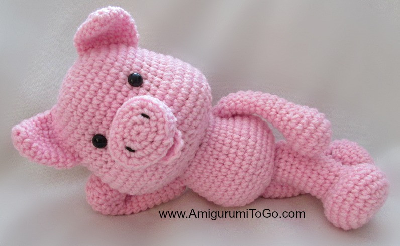 Crochet Pig Pattern Luxury Big Piggy Little Pig New Pattern Ing Amigurumi to Go Of Adorable 49 Models Crochet Pig Pattern