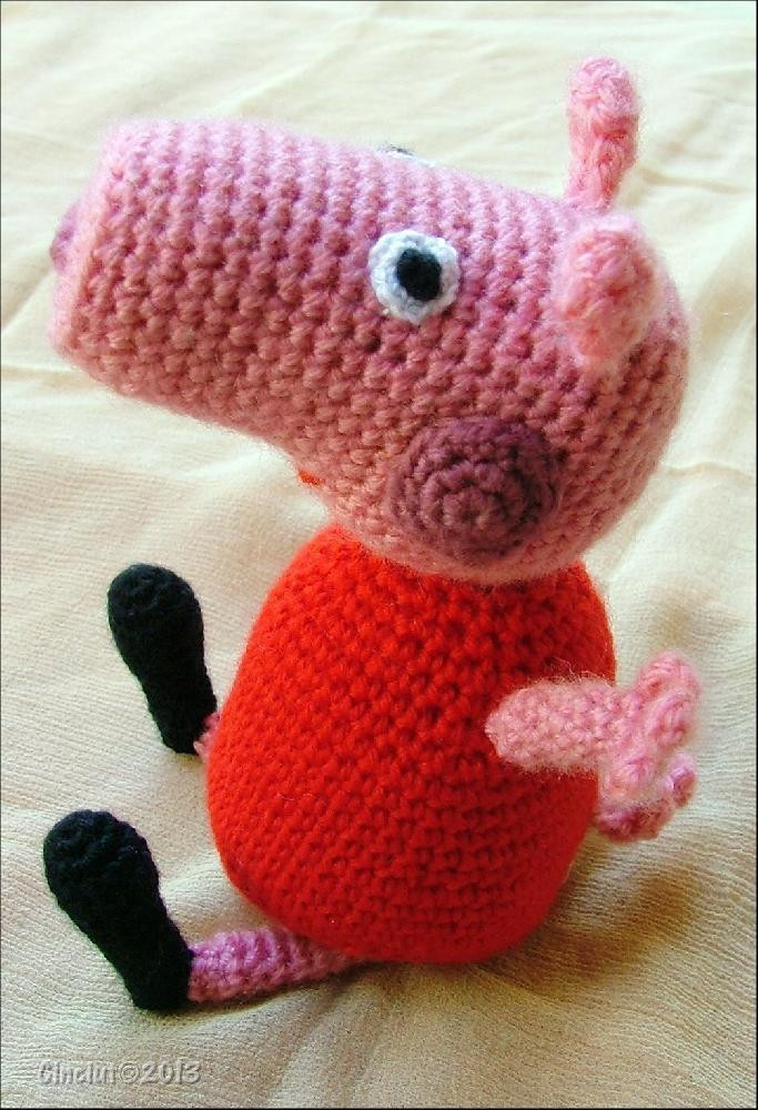 Crochet Pig Pattern Luxury Peppa Pig Amigurumi Crochet Pattern by Sabrina Boscolo Of Adorable 49 Models Crochet Pig Pattern
