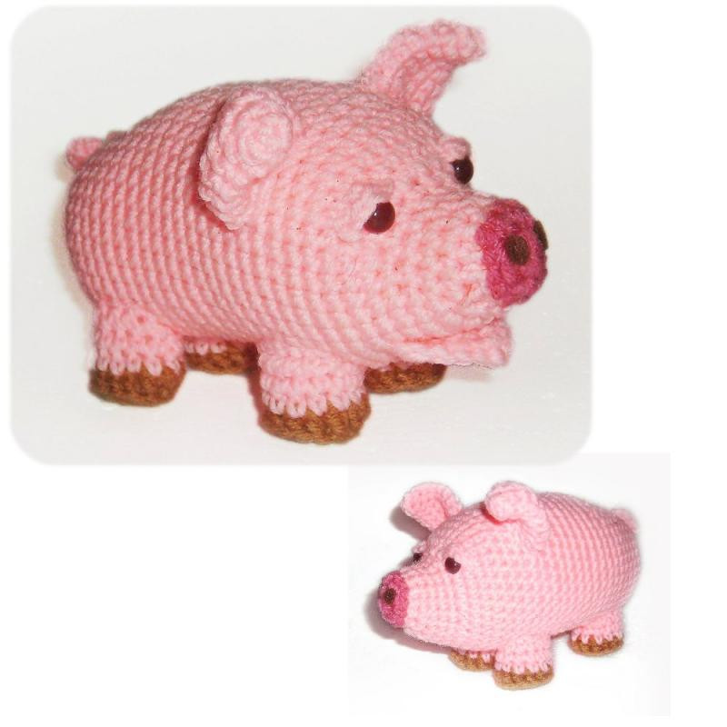 Crochet Pig Pattern New Crochet Pig Pattern – Crochet Club Of Adorable 49 Models Crochet Pig Pattern
