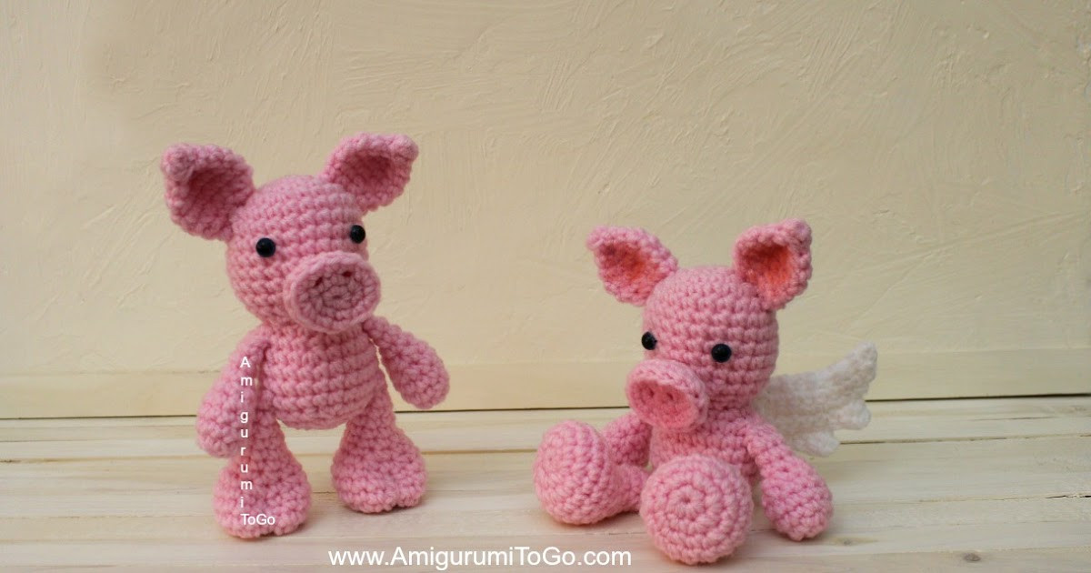 Crochet Pig Pattern New when Pigs Fly Amigurumi to Go Of Adorable 49 Models Crochet Pig Pattern