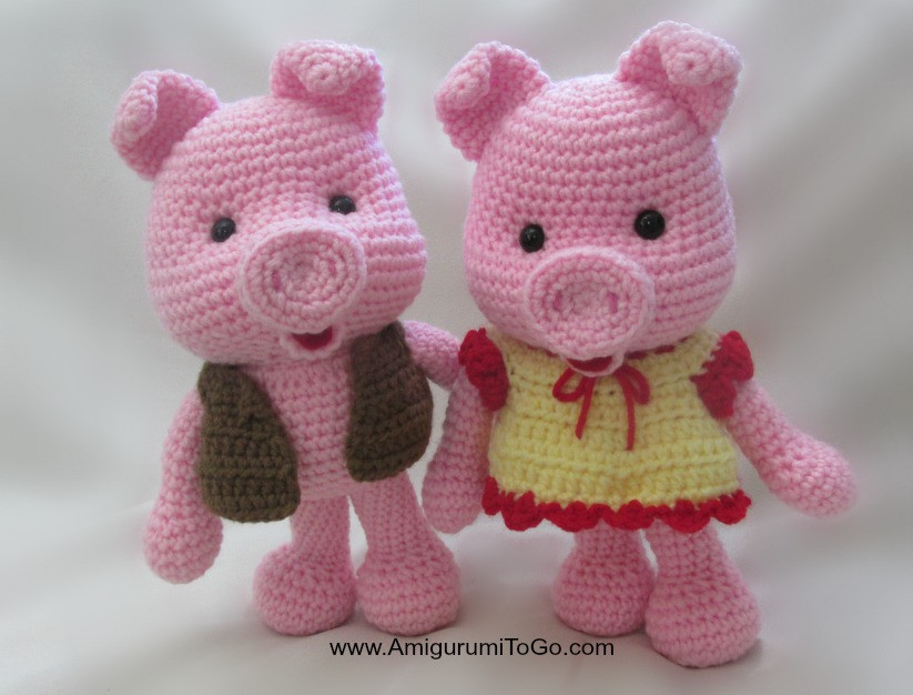 Crochet Pig Pattern Unique Dress Up Pigs Free Pattern Amigurumi to Go Of Adorable 49 Models Crochet Pig Pattern