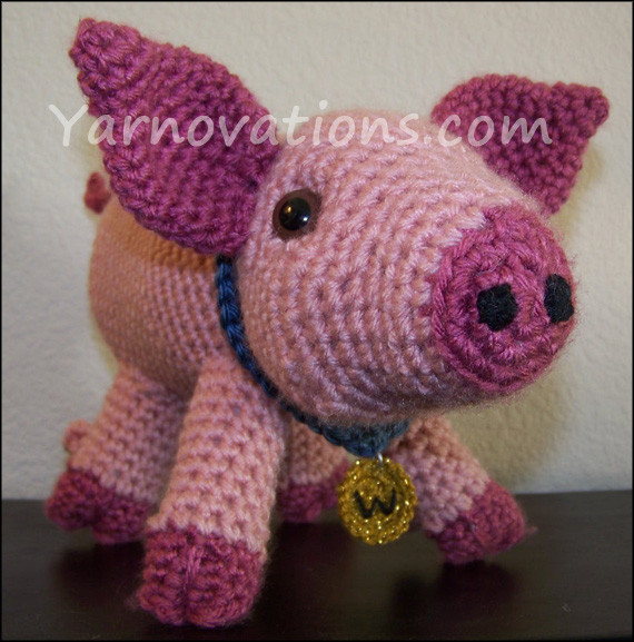 "Crochet Pig Pattern Unique Pig and Wild Boar Crochet Pattern ""pork Chop"" Of Adorable 49 Models Crochet Pig Pattern"