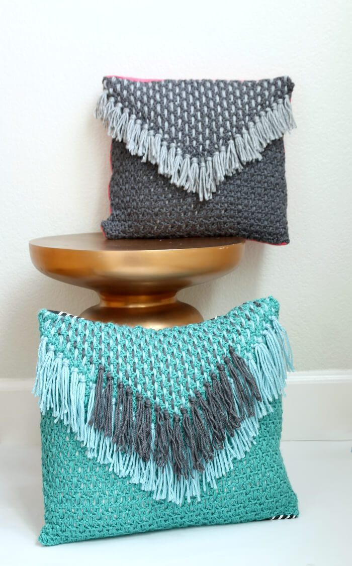 Crochet Pillow Beautiful Woven Tassel Pillow – Free Crochet Pattern Of Superb 50 Images Crochet Pillow