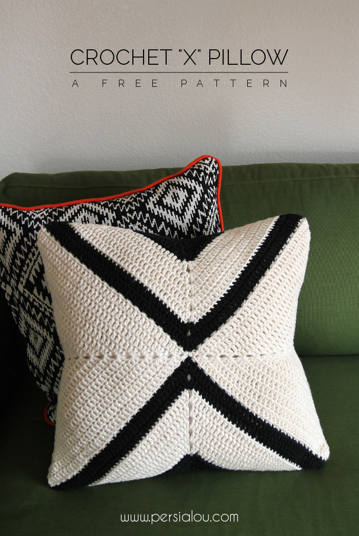 Crochet Pillow Cover Awesome Crochet X Pillow Pattern Of Amazing 50 Pics Crochet Pillow Cover
