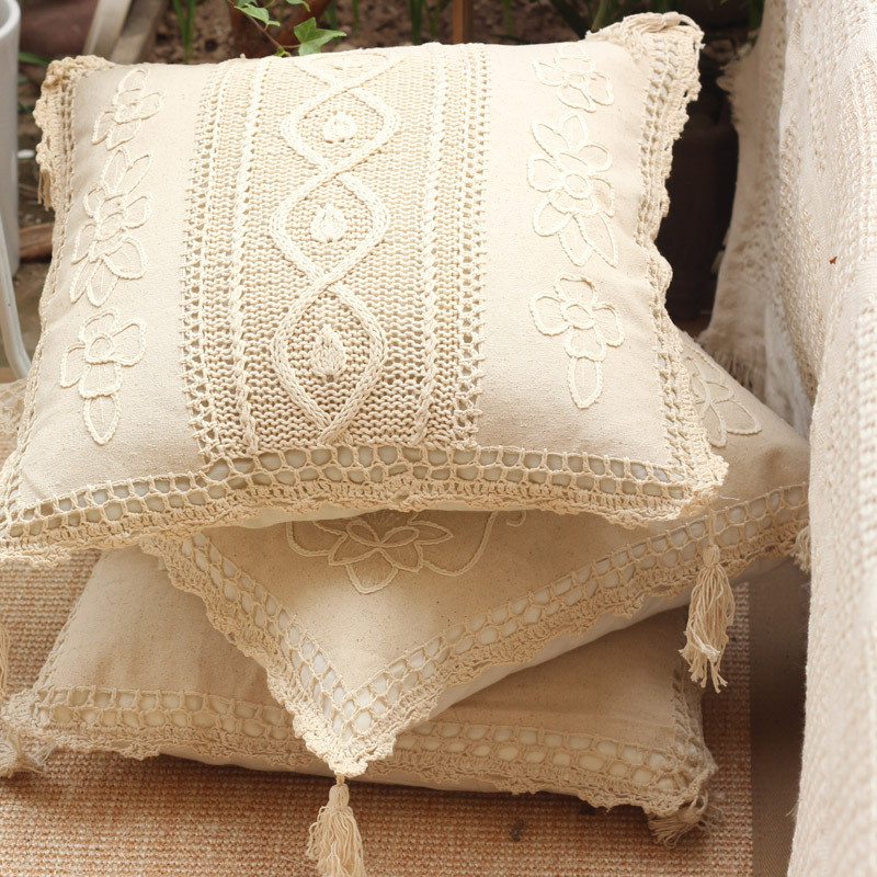 Crochet Pillow Cover Best Of forest Departmant Home Decor Geometric Crochet Cushion Of Amazing 50 Pics Crochet Pillow Cover