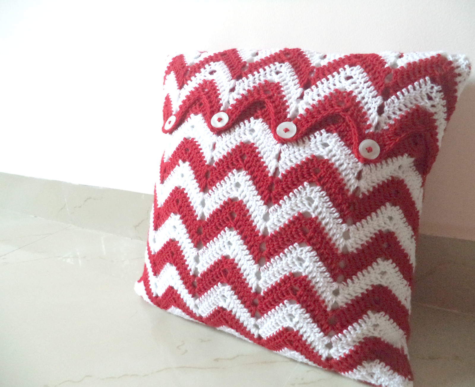 Crochet Pillow Cover Elegant Made In Craftadise Of Amazing 50 Pics Crochet Pillow Cover