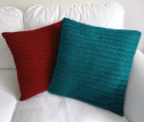 Crochet Pillow Cover Inspirational Classic Pillow Cover Pdf Crochet Pattern Instant Download Of Amazing 50 Pics Crochet Pillow Cover