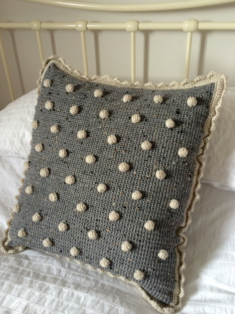 Crochet Pillow Cover New Crochet with Kate Beautiful Bobble Cushion • Lovecrochet Blog Of Amazing 50 Pics Crochet Pillow Cover