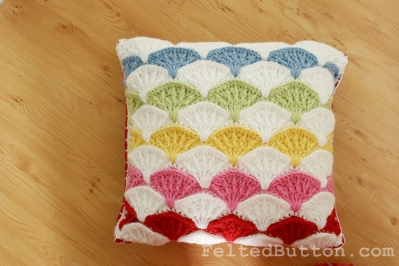 Crochet Pillow Cover Pattern Best Of Felted button Colorful Crochet Patterns Paintbrush Of Lovely 47 Images Crochet Pillow Cover Pattern