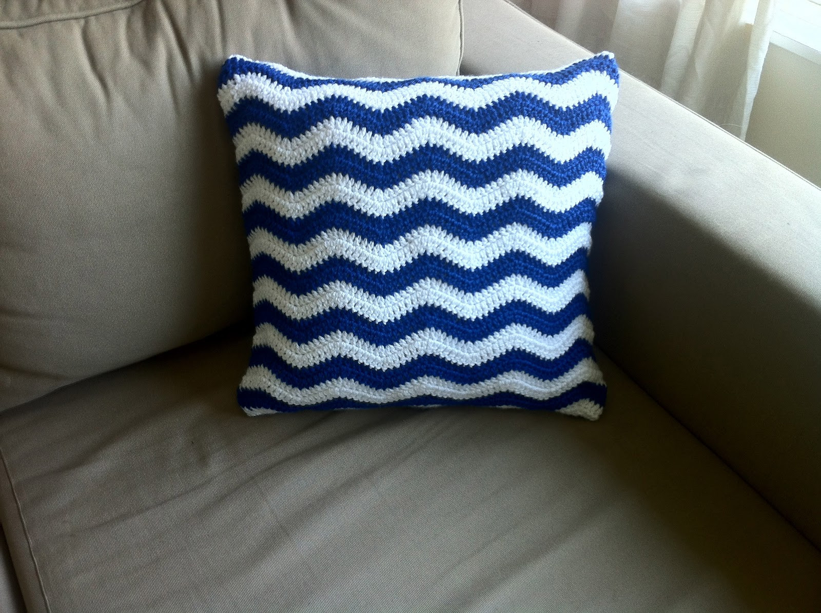 Crochet Pillow Cover Pattern Lovely the Way I Crochet Crochet Ripple Cushion Cover Free Pattern Of Lovely 47 Images Crochet Pillow Cover Pattern