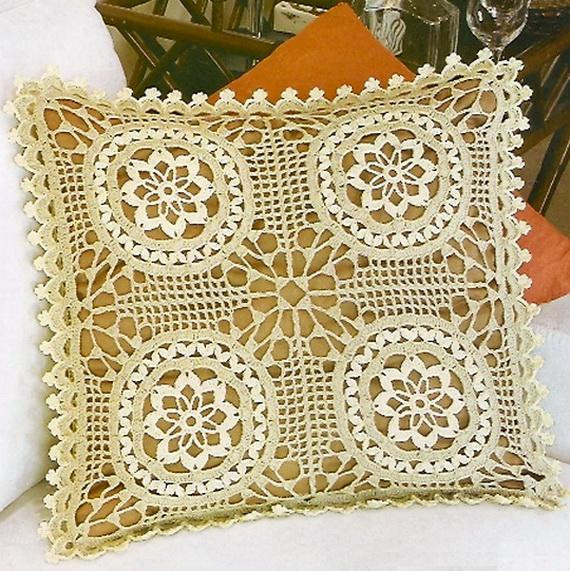 crochet pillow cover free pattern