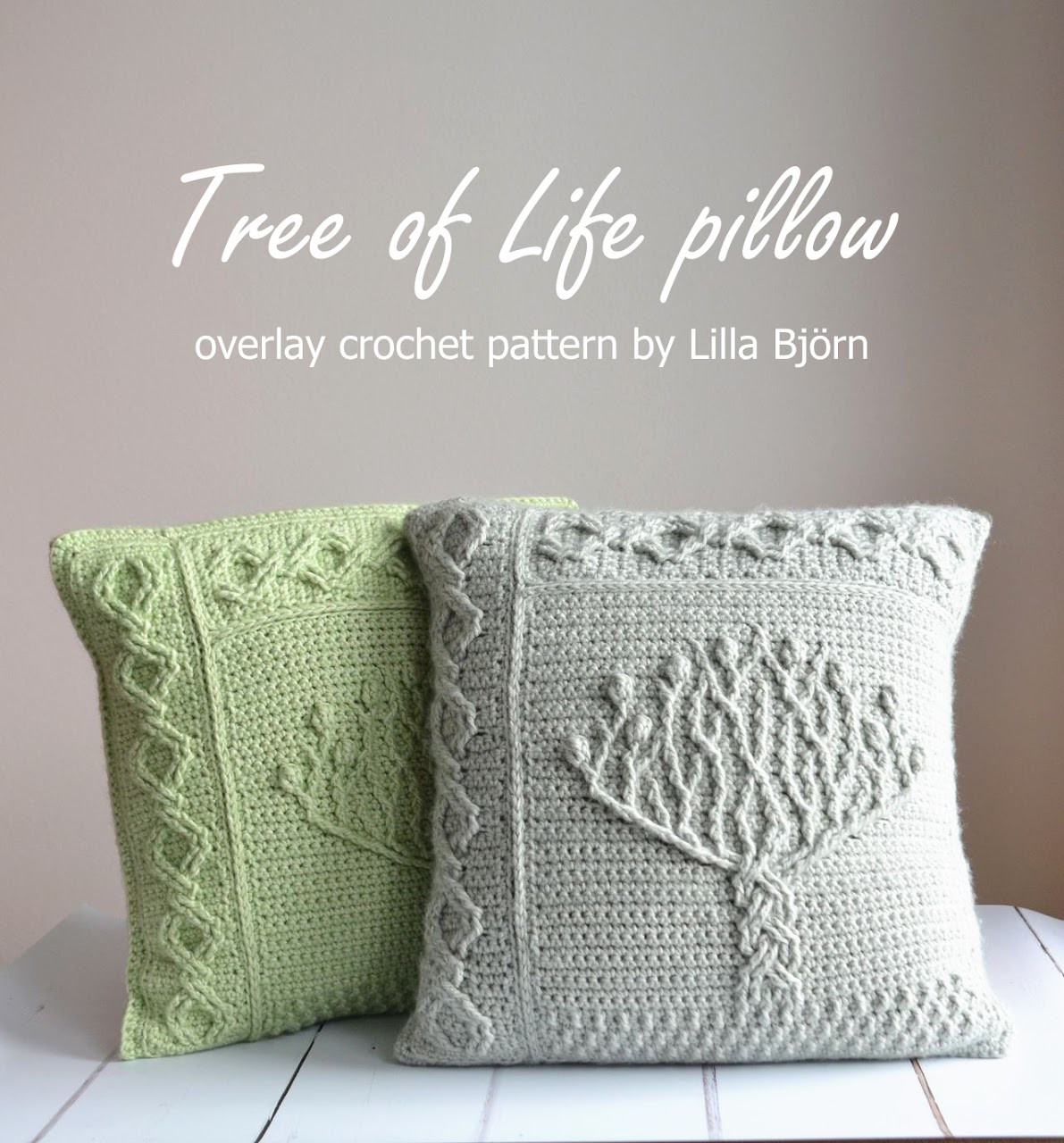 Crochet Pillow Cover Pattern New Tree Of Life Pillow – New Overlay Crochet Pattern Of Lovely 47 Images Crochet Pillow Cover Pattern