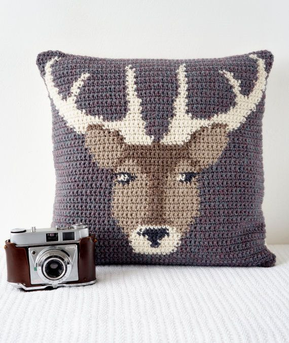255 best Crochet cushions images on Pinterest