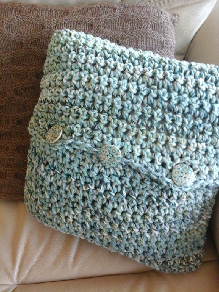 Crochet Pillow Cover Pattern Unique top 10 Free Patterns for Gorgeous Crocheted Pillows Of Lovely 47 Images Crochet Pillow Cover Pattern