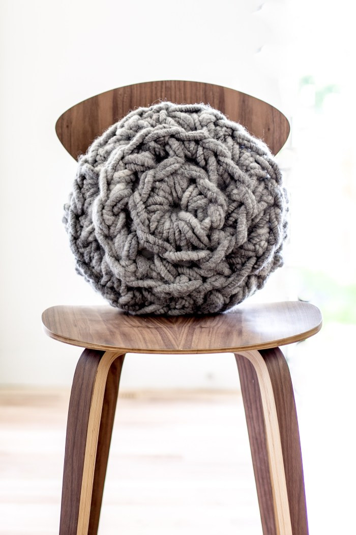 Crochet Pillow Elegant Hand Crochet Round Pillow Pattern Flax & Twine Of Superb 50 Images Crochet Pillow