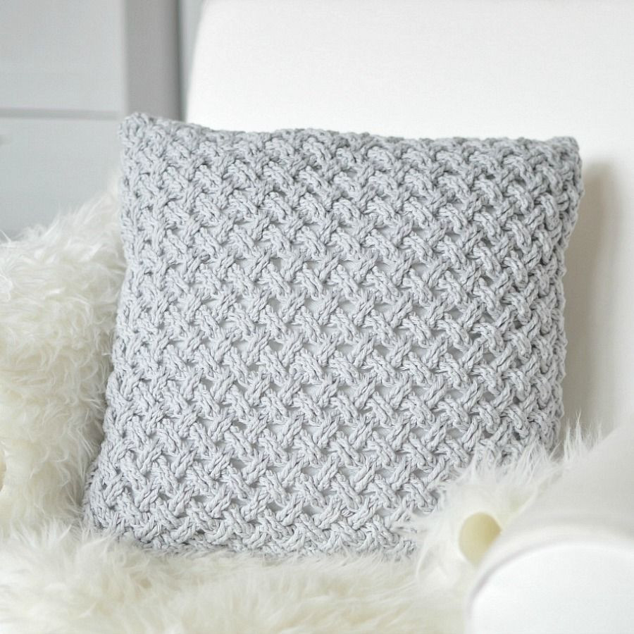 Crochet Pillow Fresh Crochet Pillow Light Grey Drops Paris Of Superb 50 Images Crochet Pillow