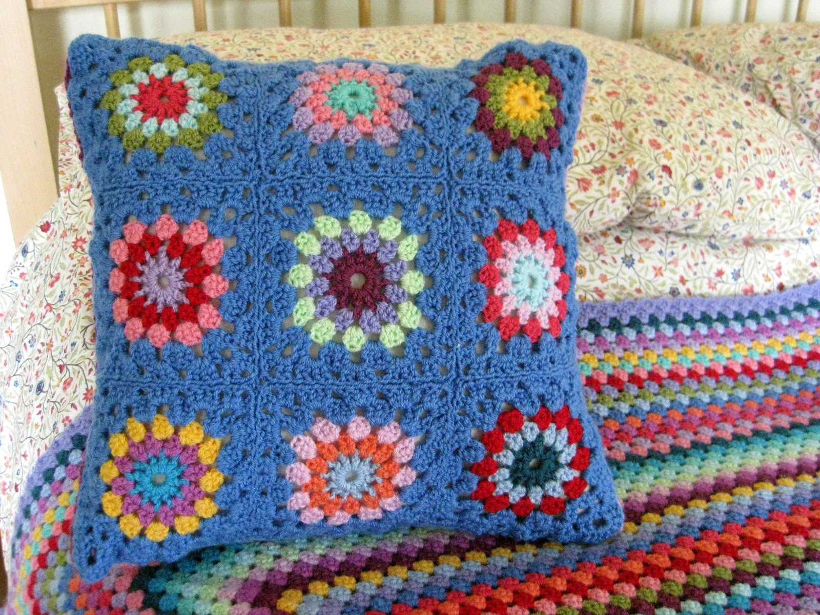Crochet Pillow Fresh Thistlebear A Crocheted Pillow Cover Of Superb 50 Images Crochet Pillow