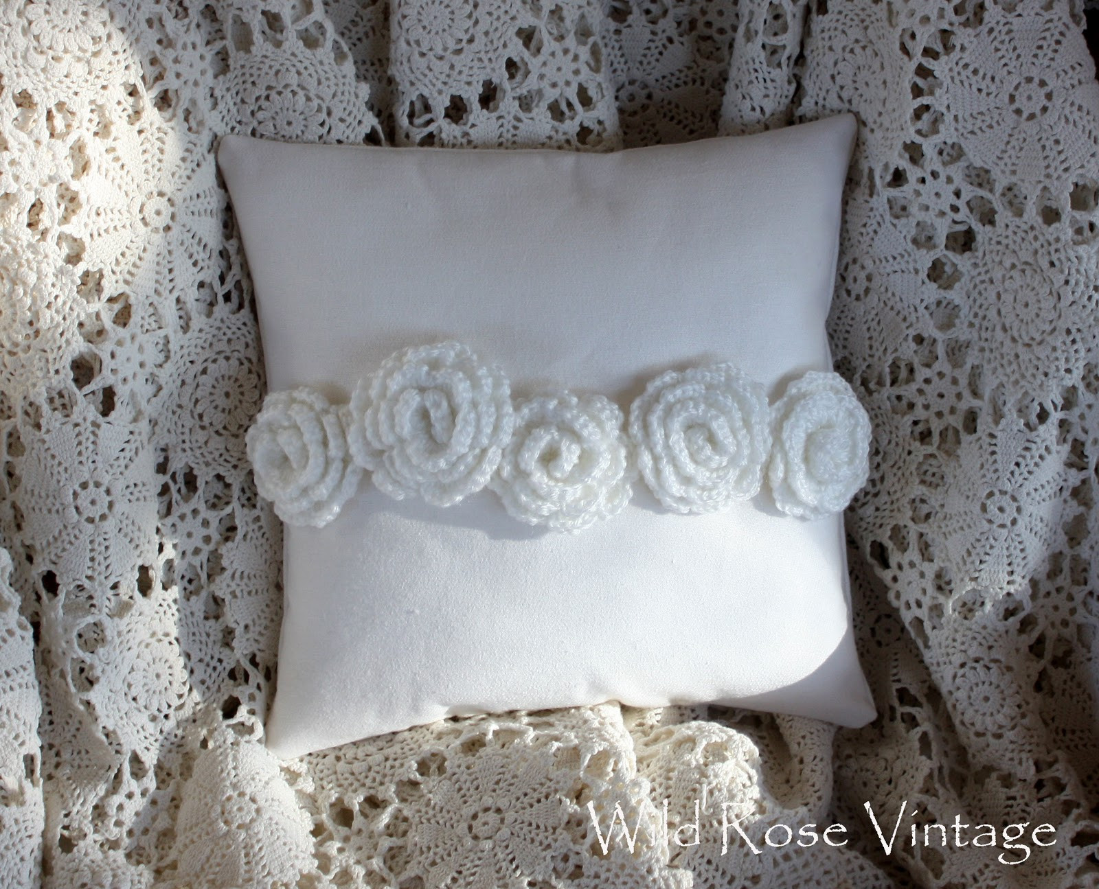 Crochet Pillow Luxury Wild Rose Vintage Crochet Roses Pillow Of Superb 50 Images Crochet Pillow