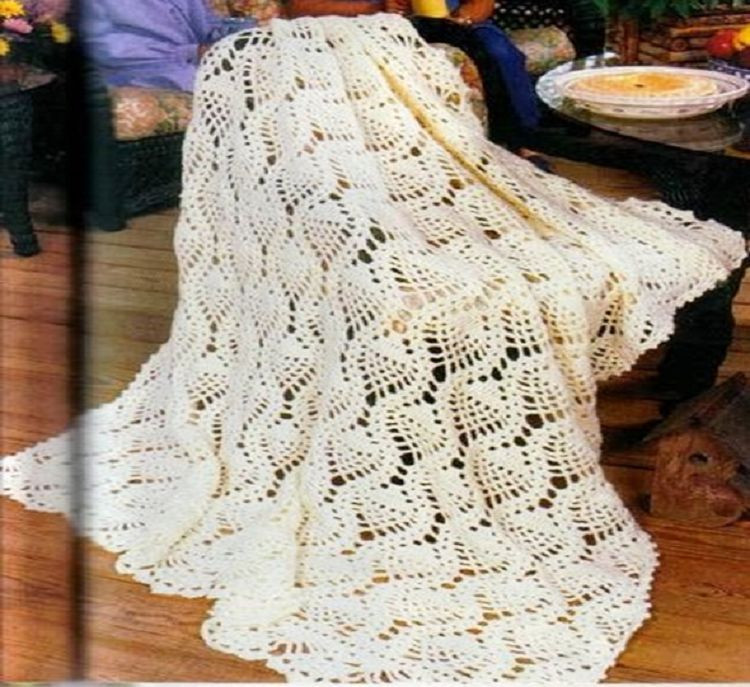 Crochet Pineapple Afghan Pattern Lovely Pineapple Afghan Crochet Pattern Easy Beginner Of Perfect 41 Pictures Crochet Pineapple Afghan Pattern