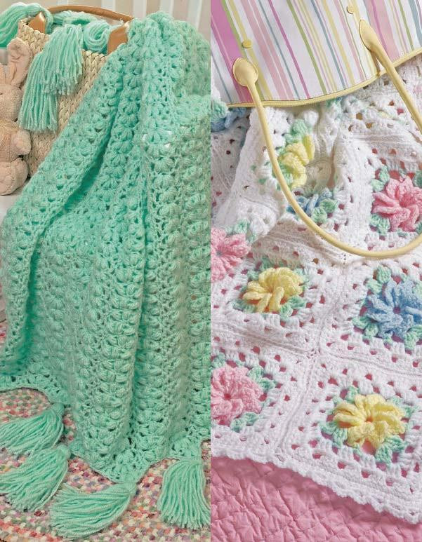Crochet Pineapple Afghan Pattern Lovely Popcorns & Pinwheel Roses Afghan Set Crochet Pattern Of Perfect 41 Pictures Crochet Pineapple Afghan Pattern