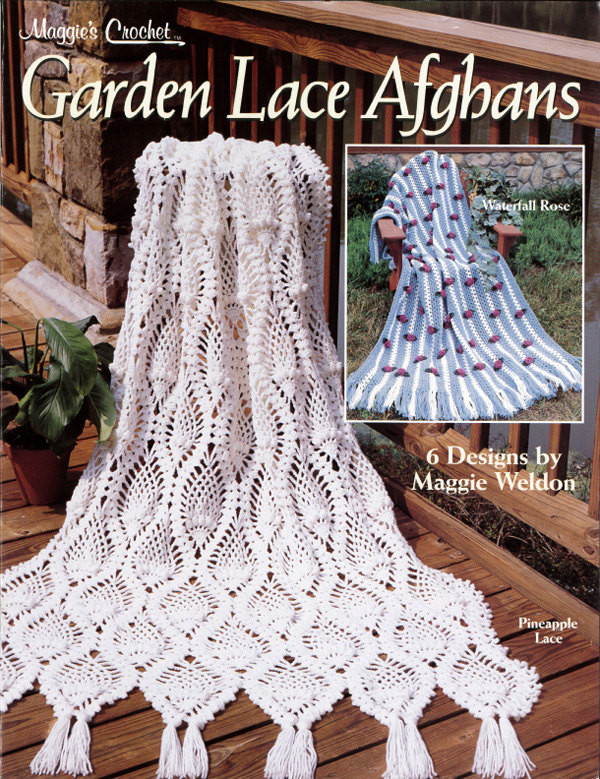 Crochet Pineapple Afghan Pattern Luxury Garden Lace Afghans Crochet Pattern Leaflet Pdf Of Perfect 41 Pictures Crochet Pineapple Afghan Pattern