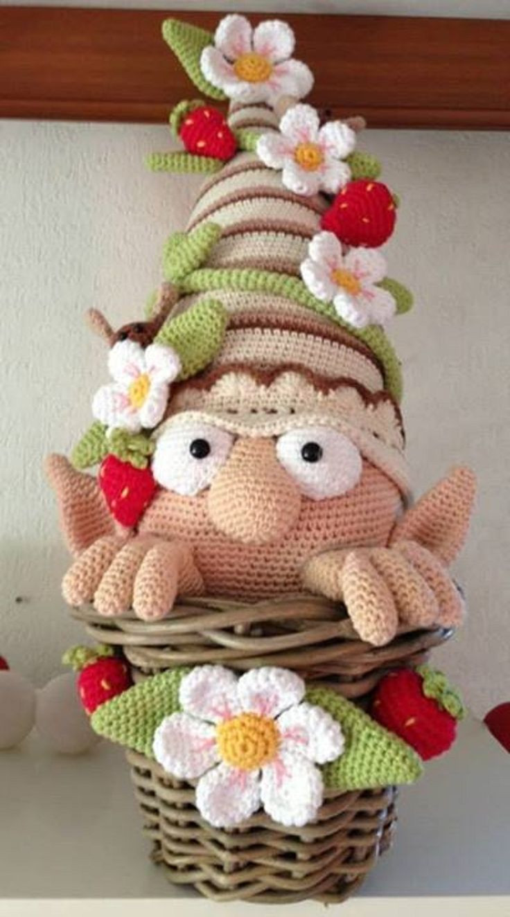 Crochet Pinterest Best Of Amazing Amigurumi Gnome Free Pattern Of Brilliant 45 Pictures Crochet Pinterest