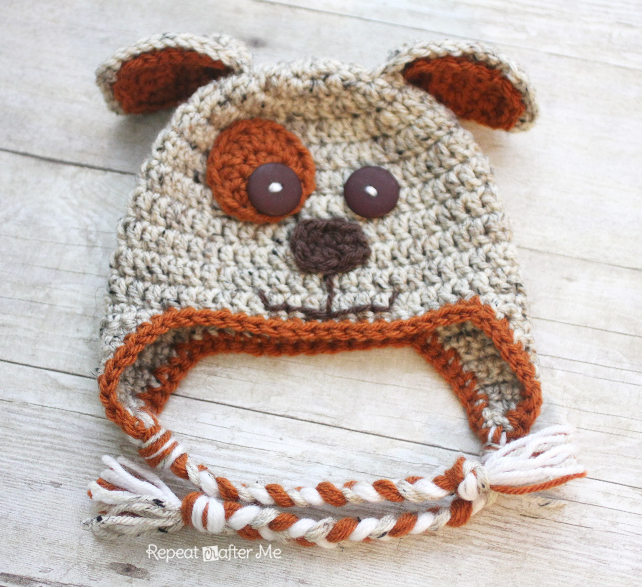 Crochet Pinterest Best Of Crochet Puppy Hat Pattern Repeat Crafter Me Of Brilliant 45 Pictures Crochet Pinterest