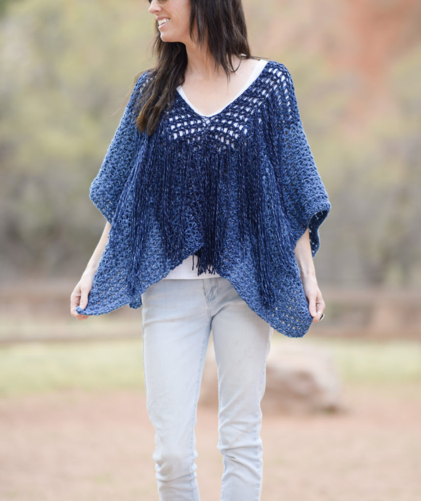 Crochet Poncho Pattern Best Of Azul V Mesh Easy Crochet Poncho Pattern – Mama In A Stitch Of Beautiful 41 Ideas Crochet Poncho Pattern
