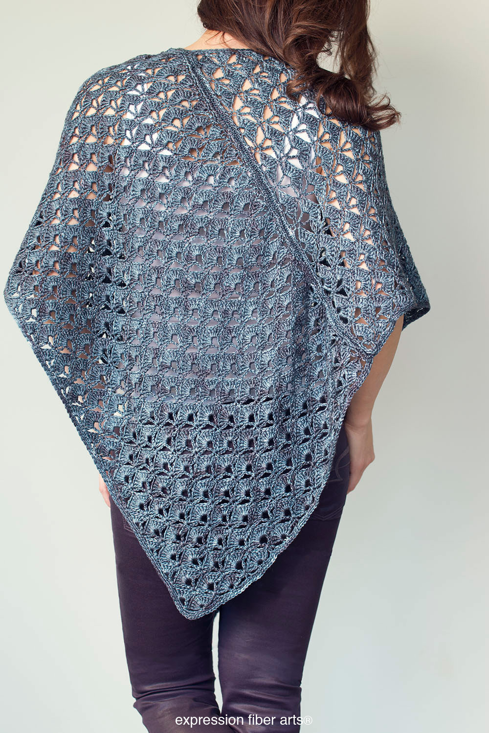 Crochet Poncho Pattern Lovely Persephone Poncho Crochet Pattern – Expression Fiber Arts Of Beautiful 41 Ideas Crochet Poncho Pattern