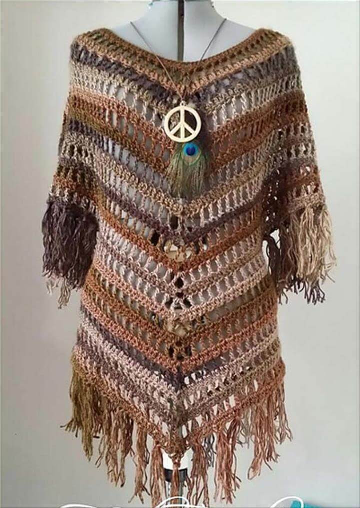 Crochet Poncho Pattern Unique 20 Easy Handmade Crochet Project Ideas Of Beautiful 41 Ideas Crochet Poncho Pattern