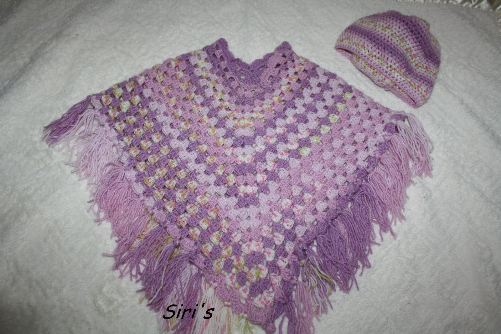 Crochet Poncho Patterns for Beginners Elegant Siri S Kitchen Crochet Baby Poncho with A Matching Hat Of Amazing 43 Models Crochet Poncho Patterns for Beginners