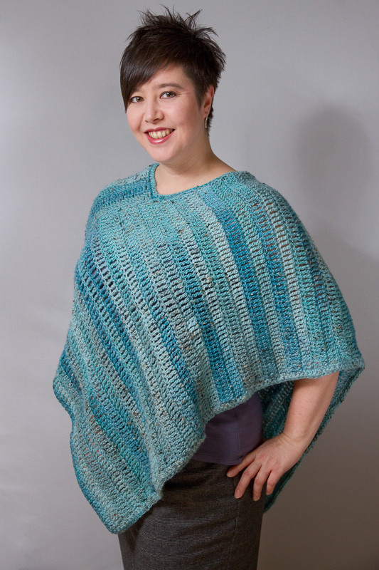 poncho crochet patterns for beginners