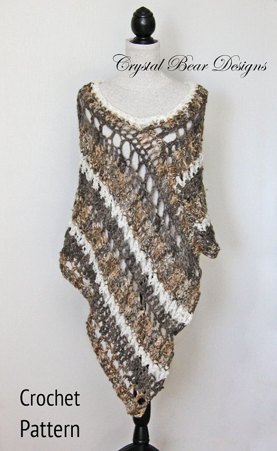 Crochet Poncho Patterns for Beginners Inspirational 17 Best Images About Poncho On Pinterest Of Amazing 43 Models Crochet Poncho Patterns for Beginners