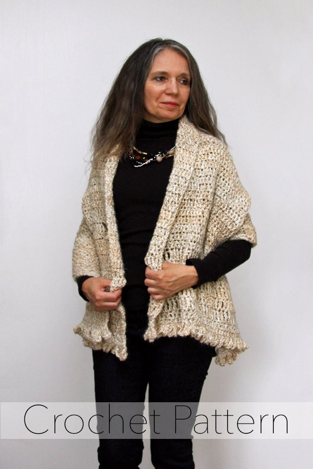 Crochet Poncho Patterns for Beginners Unique Crochet Shawl Pattern button Wrap Poncho Easy Beginner Of Amazing 43 Models Crochet Poncho Patterns for Beginners