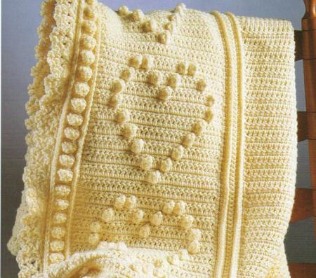 Crochet Popcorn Stitch Baby Blanket Fresh Free Crochet Afghan Patterns with Hearts Dancox for Of Gorgeous 27 Ideas Crochet Popcorn Stitch Baby Blanket