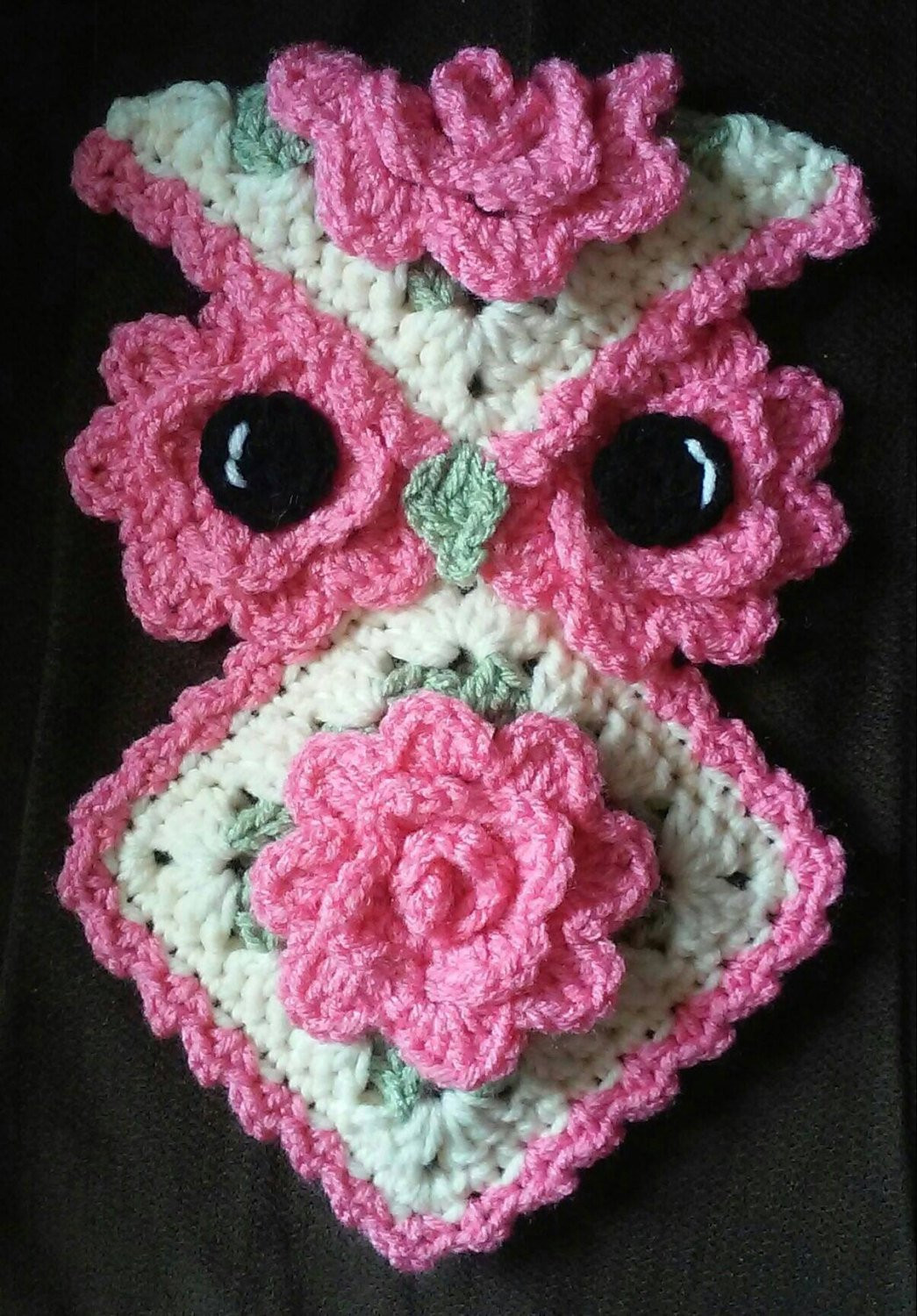Crochet Potholder Pattern Best Of Crochet Rose Owl Potholder Pattern Ly Of Amazing 43 Pictures Crochet Potholder Pattern