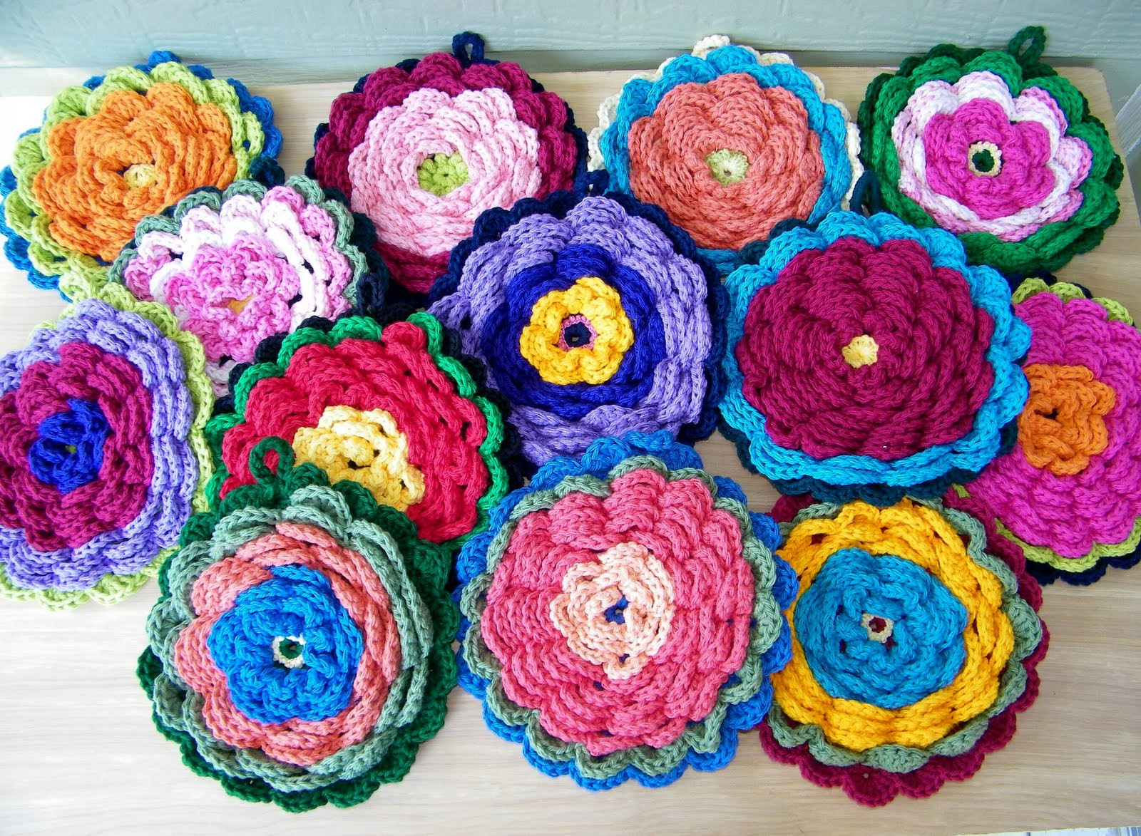 Crochet Potholder Pattern Fresh Delights Gems Fanciful Flower Potholders Of Amazing 43 Pictures Crochet Potholder Pattern