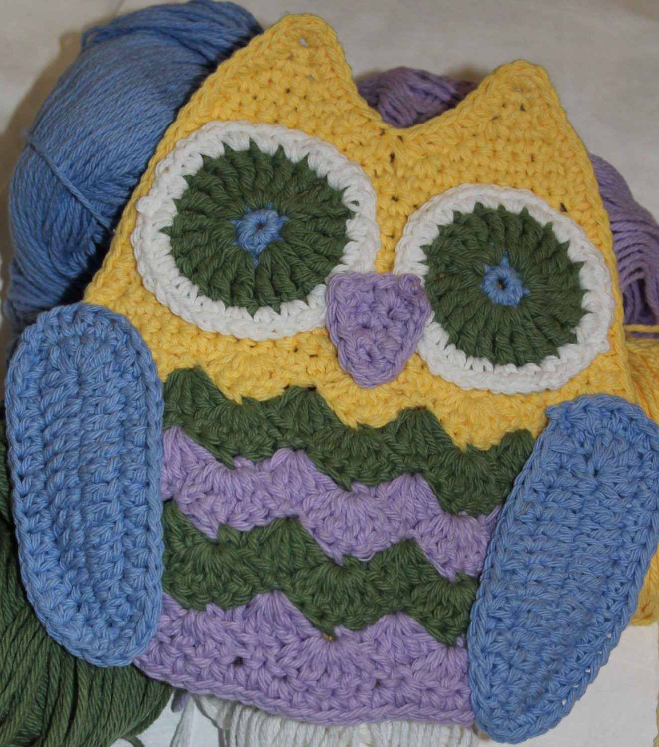 Crochet Potholder Pattern Fresh Owl Hot Pad Potholder Crochet Pattern Of Amazing 43 Pictures Crochet Potholder Pattern