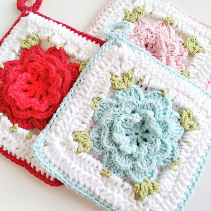 Crochet Potholder Pattern New 1000 Ideas About Vintage Potholders On Pinterest Of Amazing 43 Pictures Crochet Potholder Pattern