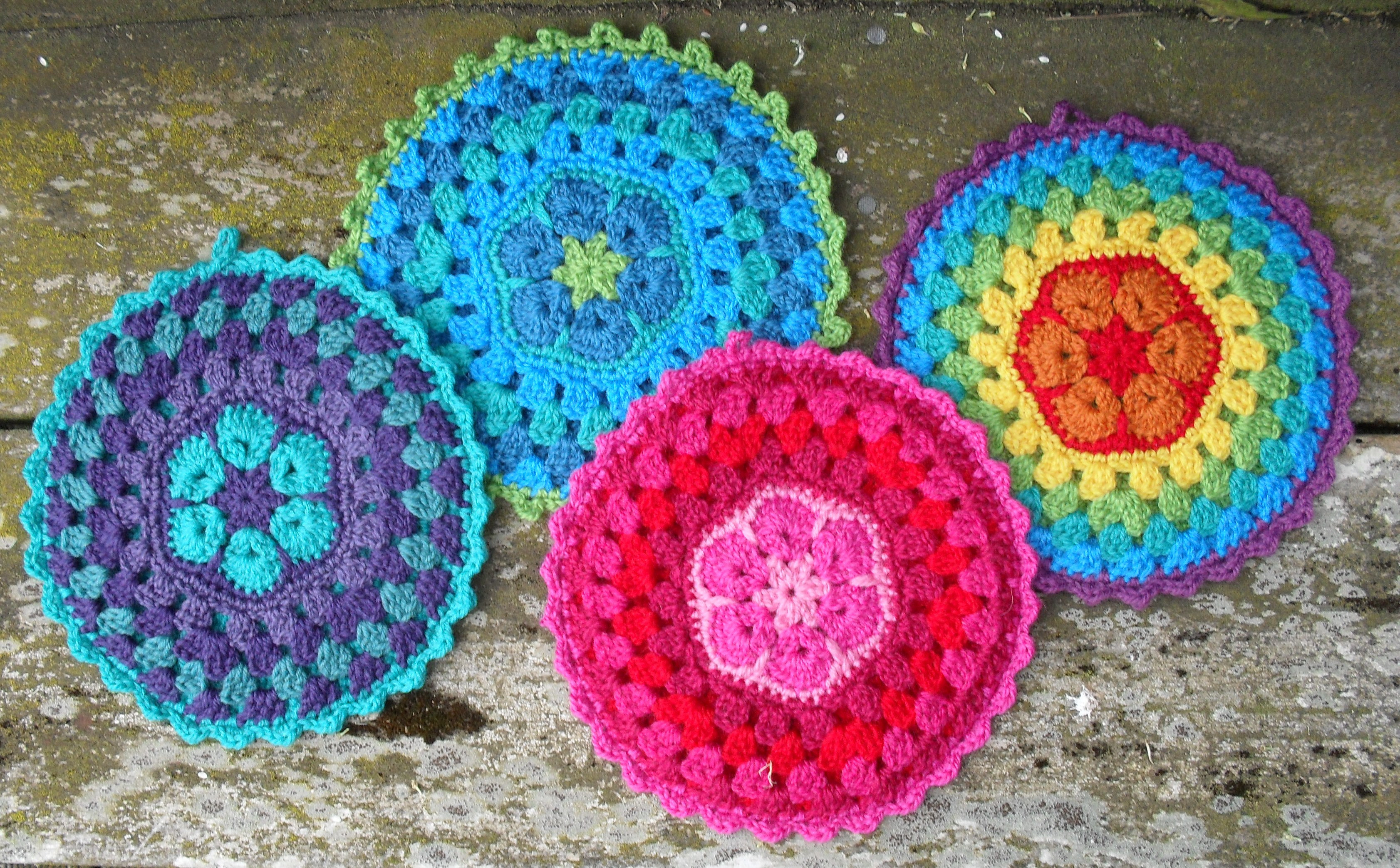 "Crochet Potholder Pattern New ""ornamental"" Pot Holders Of Amazing 43 Pictures Crochet Potholder Pattern"