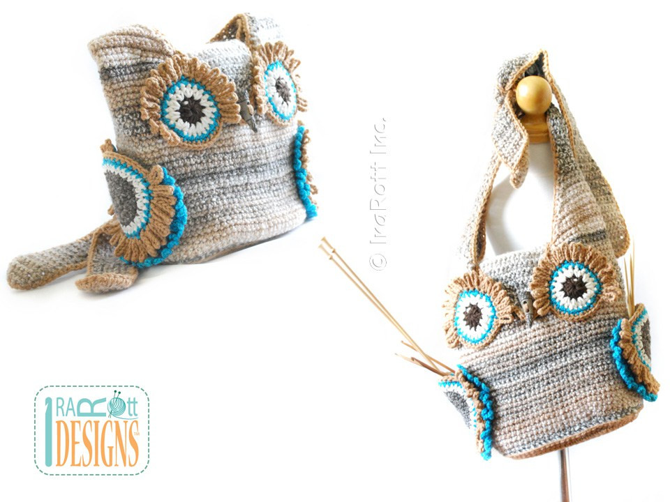Crochet Pouch Awesome Hooty the Owl Buddy Bag Backpack Belt Pouch Pdf Crochet Of Awesome 48 Pics Crochet Pouch