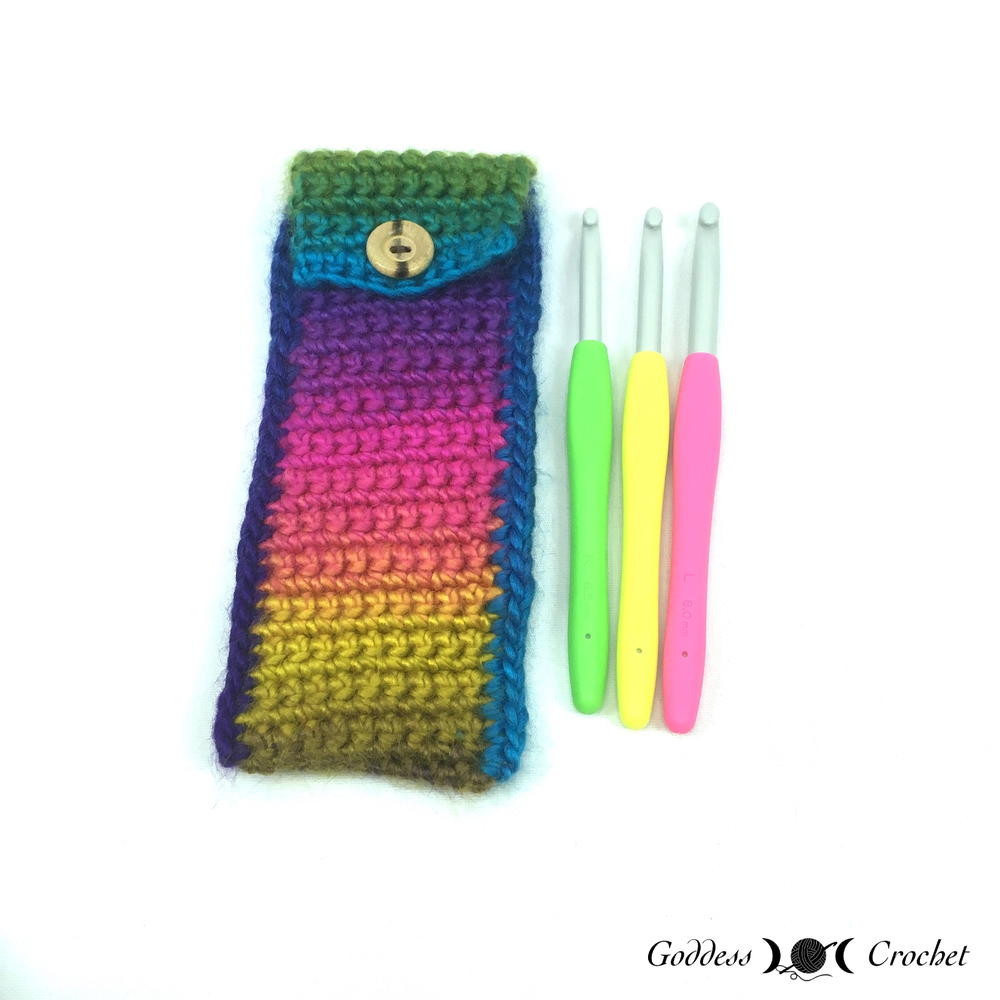 Crochet Pouch Beautiful Crochet Hook Pouch Of Awesome 48 Pics Crochet Pouch