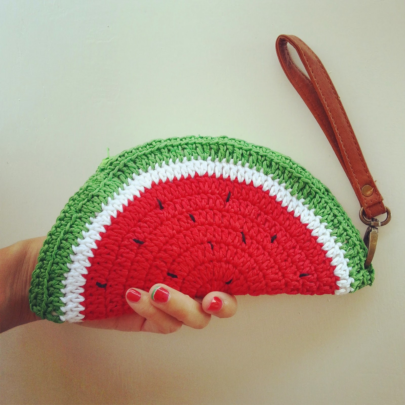 Crochet Pouch Elegant Fabcroc Free Pattern Watermelon Coin Purse Crochet Of Awesome 48 Pics Crochet Pouch