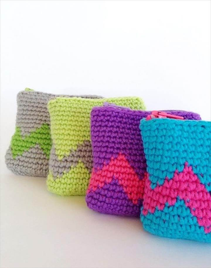 Crochet Pouch Fresh 42 Fabulous Handmade Crochet Bag & Purses Of Awesome 48 Pics Crochet Pouch