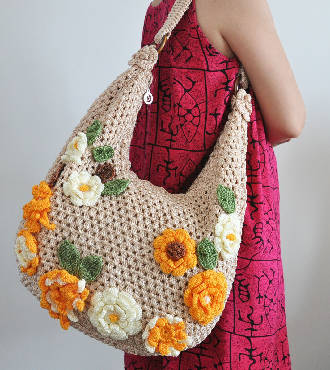 Crochet Pouch Fresh Floral Bag 5 Crochet Flower Applique Bag Of Awesome 48 Pics Crochet Pouch